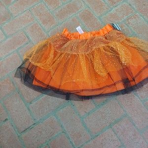 HALLOWEEN TUTU, COSTUME CANDY CORN WITCH One Size